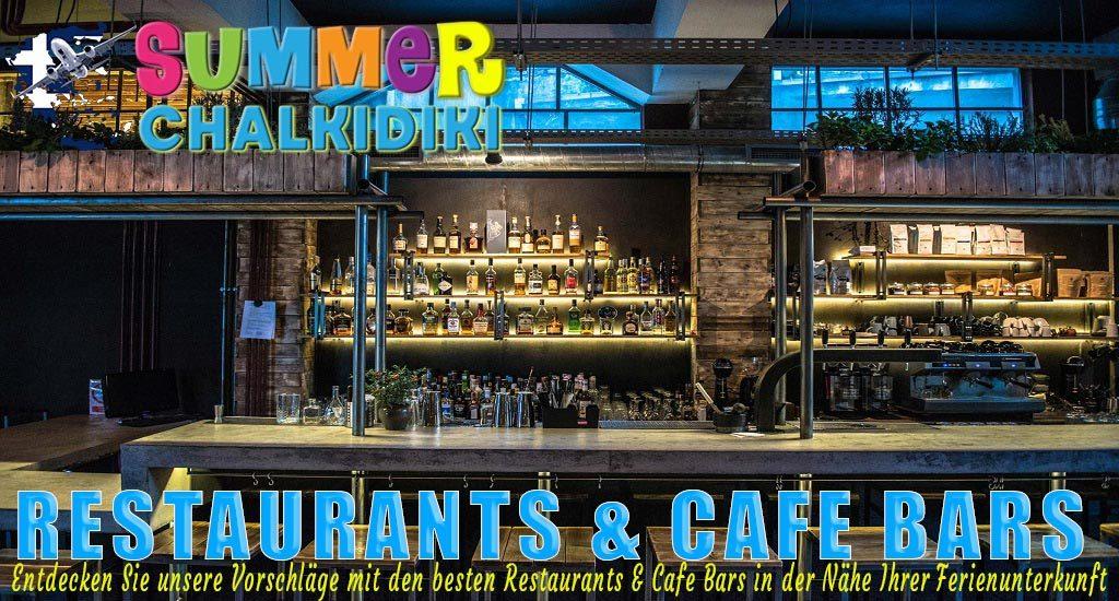 Restaurants & Cafe Bars