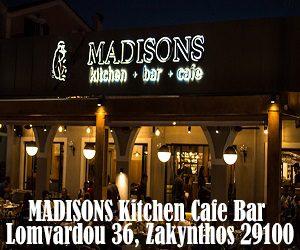 Madisons Kitchen Cafe Bar