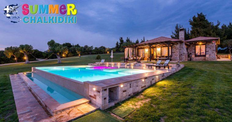 Sithonian Blue Royal Villa – Nikiti Sithonia