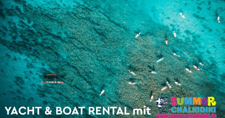 Yacht & Boat Rental