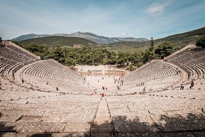 Das Amphitheater von Epidauros
