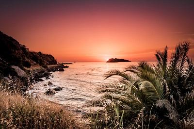 Magische Sonnenuntergänge im Norden von Lesvos