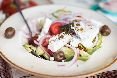 Einfach und gesund, der Griechische Bauernsalat